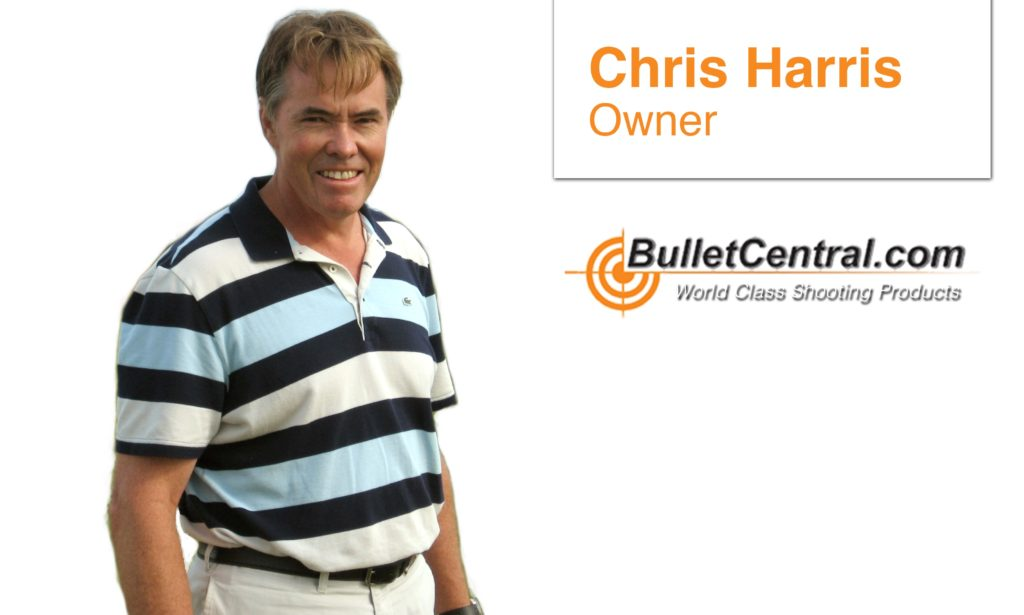 Chris Harris | Bullet Central | World Class Shooting Products | Firearm Supplier