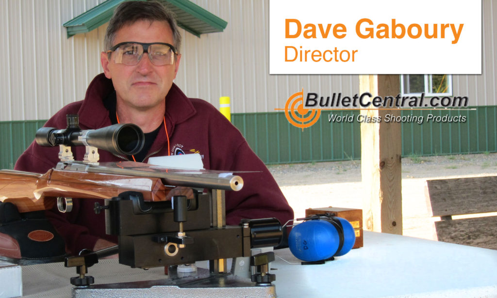 Dave Gaboury | Bullet Central | World Class Shooting Products | Firearm Supplier