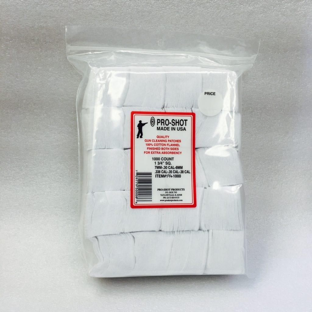 Pro-Shot Products 100/% Cotton Flannel Patches