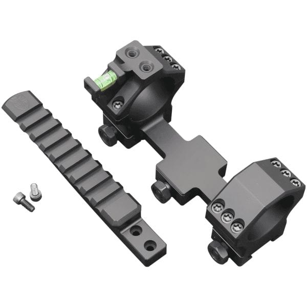 Hawkins Precision – 34mm Heavy Tactical One Piece Mount 20MOA with Picatinny Rail 1.27″